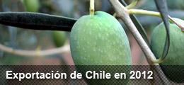 Exportación en Chile 2000-2012